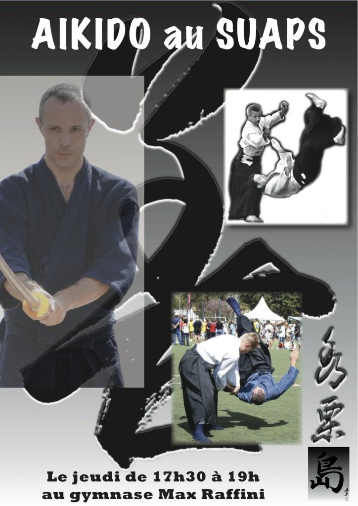 Aikido à l'Université de la Réunion campus de Saint Denis