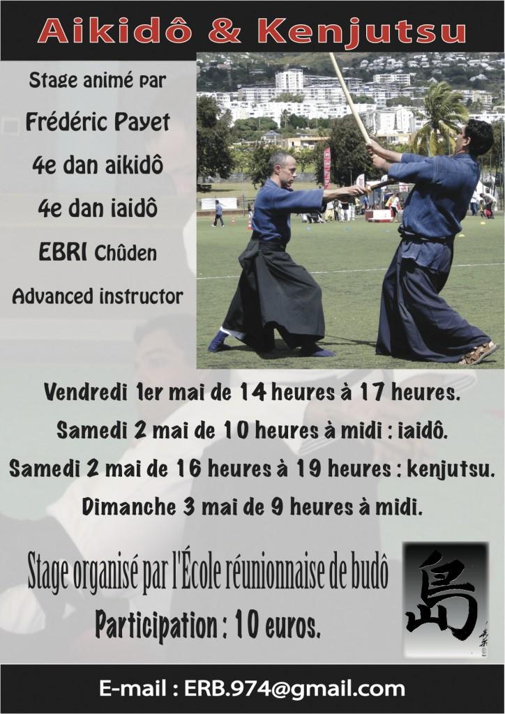 stage aikido kenjutsu mai 2015